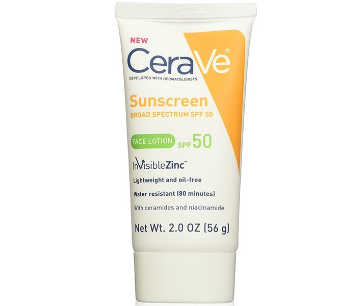 Cerave Sunscreen Face Lotion with SPF 50