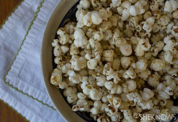 Cheesy Italian Popcorn