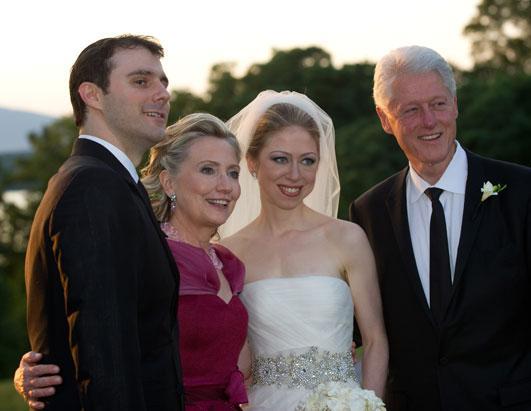 Chelsea Clinton's wedding picture