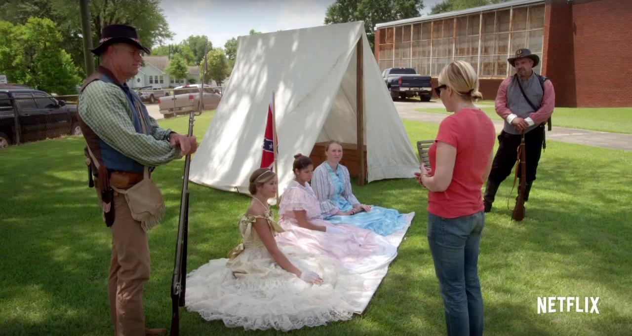 Chelsea Does_Confederate Reenactments