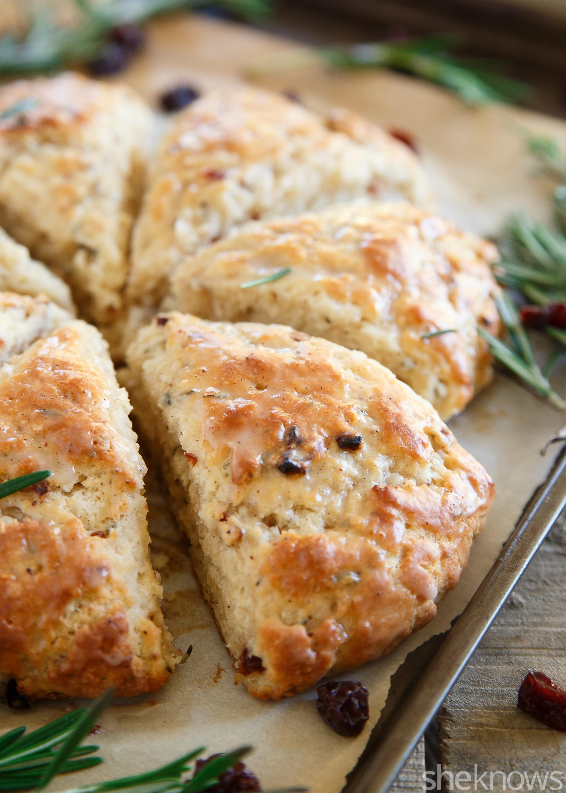 Christmas scones