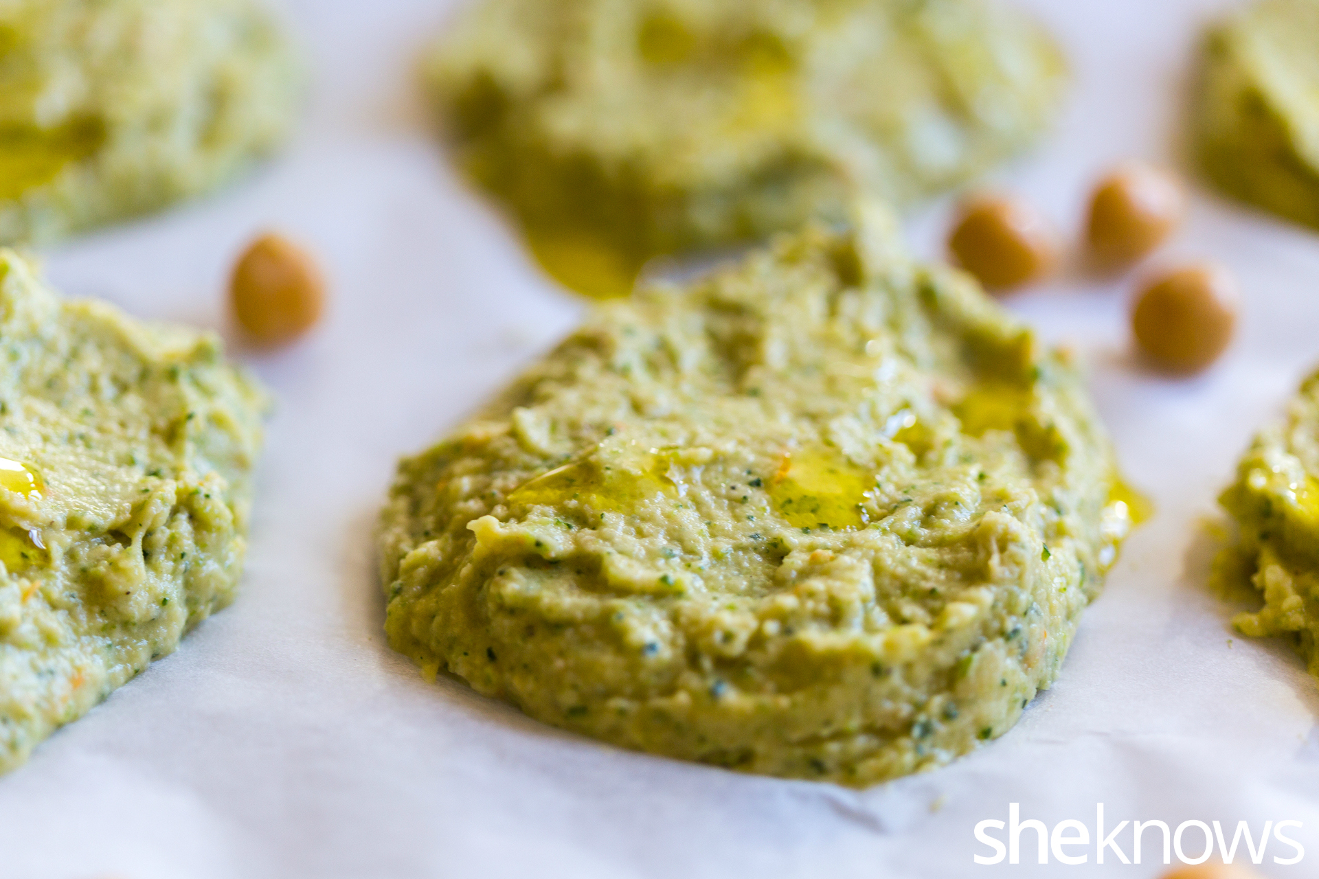 Citrus-chickpeas-and-zucchini-patties-with-herb-yogurt-dip-precooking