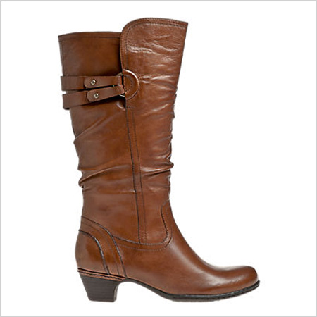 Cobb Hill Allison Boot in Almond (cobbhillshoes.com, $200)