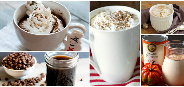 coffee and hot cocoa