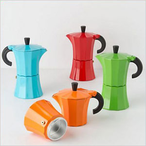 Color pop coffee pot