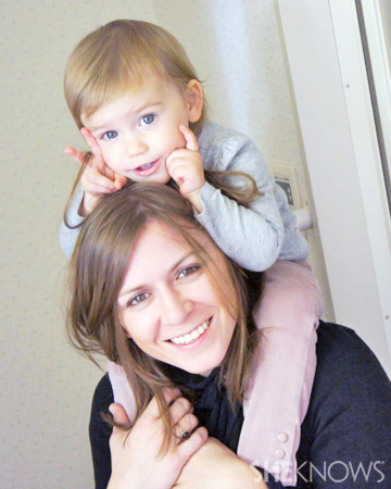Jewell Willett and daughter Ella