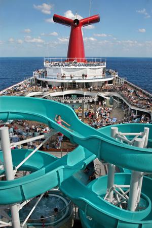 Carnival Conquest pool