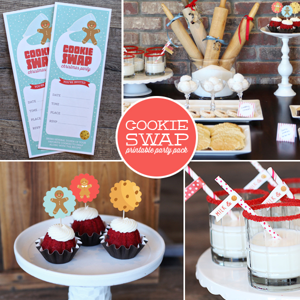 Cookie swap party pack