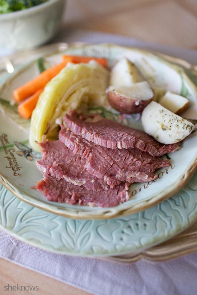 One Pot Slow Cooker Corned Beef Dinner 5