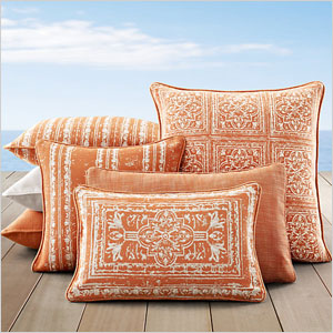 Corsica Outdoor Pillows