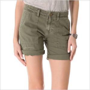 Current/Elliot The Army Bermuda Shorts