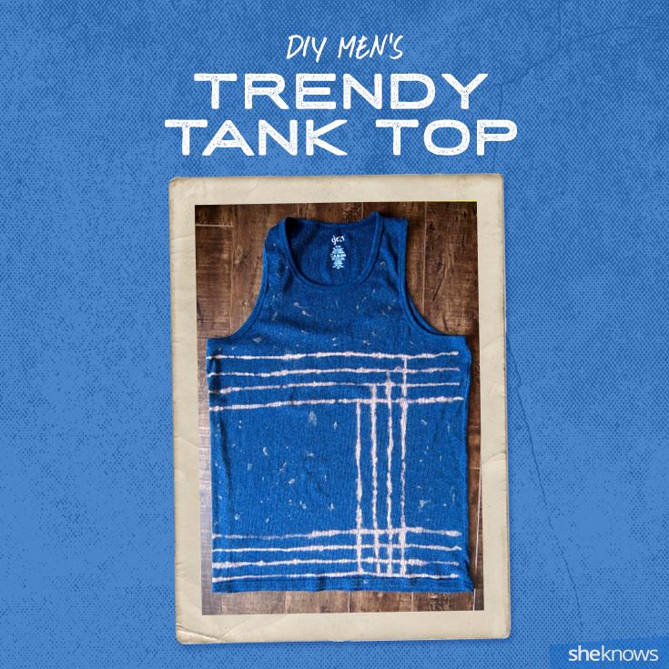 DIY tank top for men