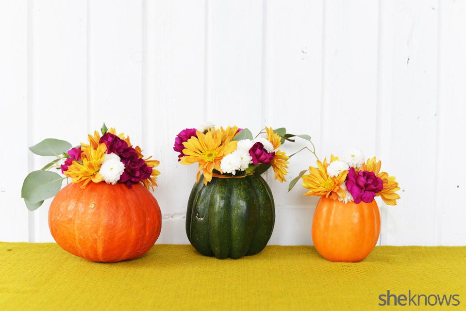 DIY gourd vases finished 1