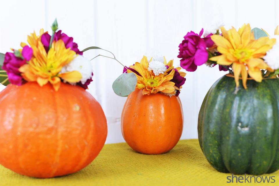 DIY gourd vases finished 3