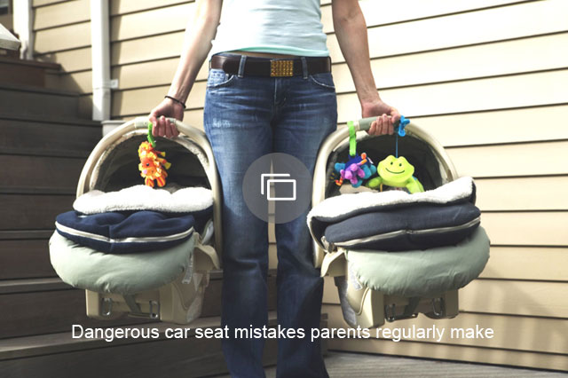 Dangerous car seat mistakes parents regularly make
