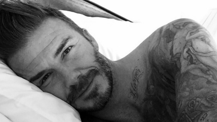 David Beckham gets a Minions tattoo