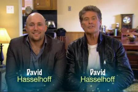 David Hasselhoff Mike Tyson, Kathy Griffin & Reggie Bush to swap lives on CBS' Same Name