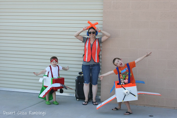 Airport themed Halloween costumes