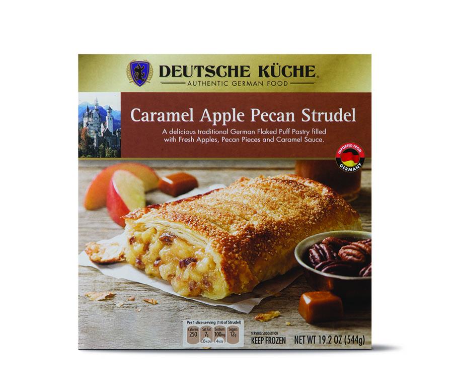 apple pecan streudel
