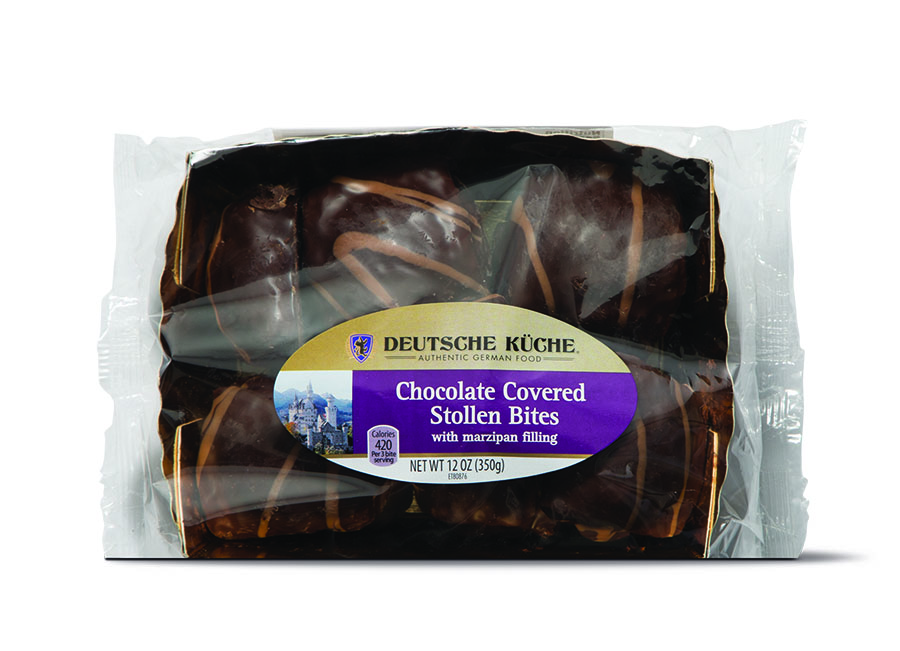 chocolate covered stollen