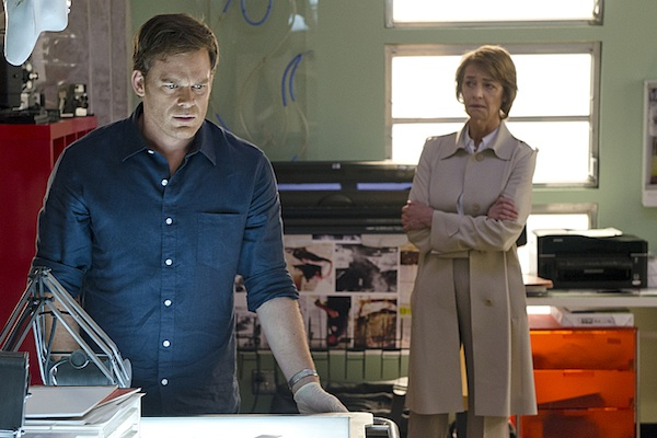 Dexter and Evelyn in Dexter