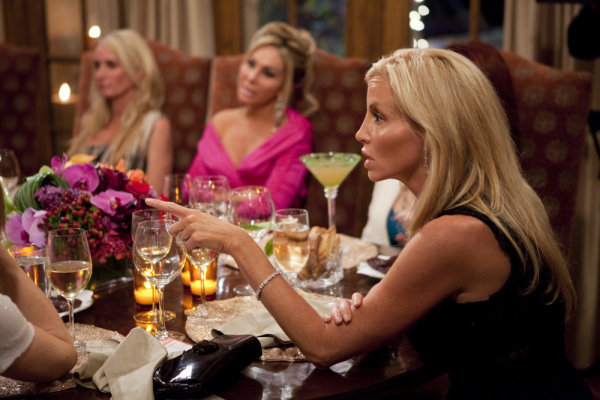 Dinner party from hell, Real Housewives of Beverly Hills