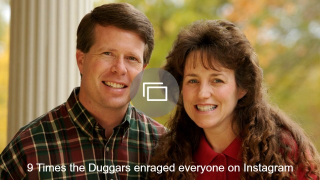 Duggars Instagram post slideshow