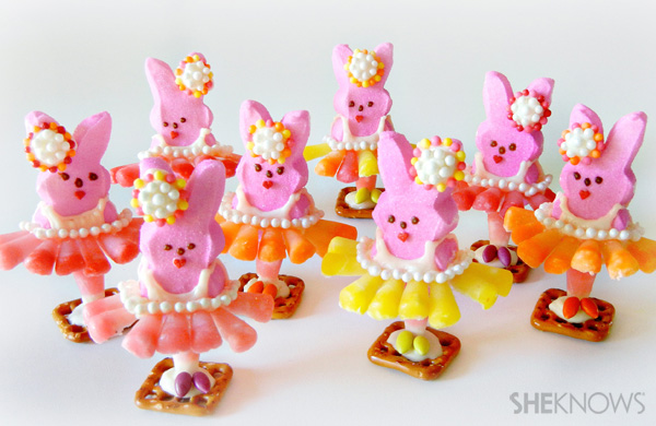 Ballerina Peeps treats
