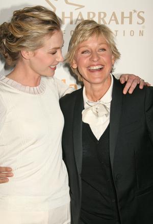 Ladies, it's the new face of CoverGirl, Ellen DeGeneres