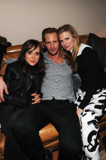 Ellen Page, Alexander Skarsgard