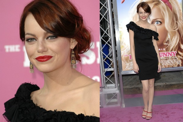 The style evolution of Emma Stone