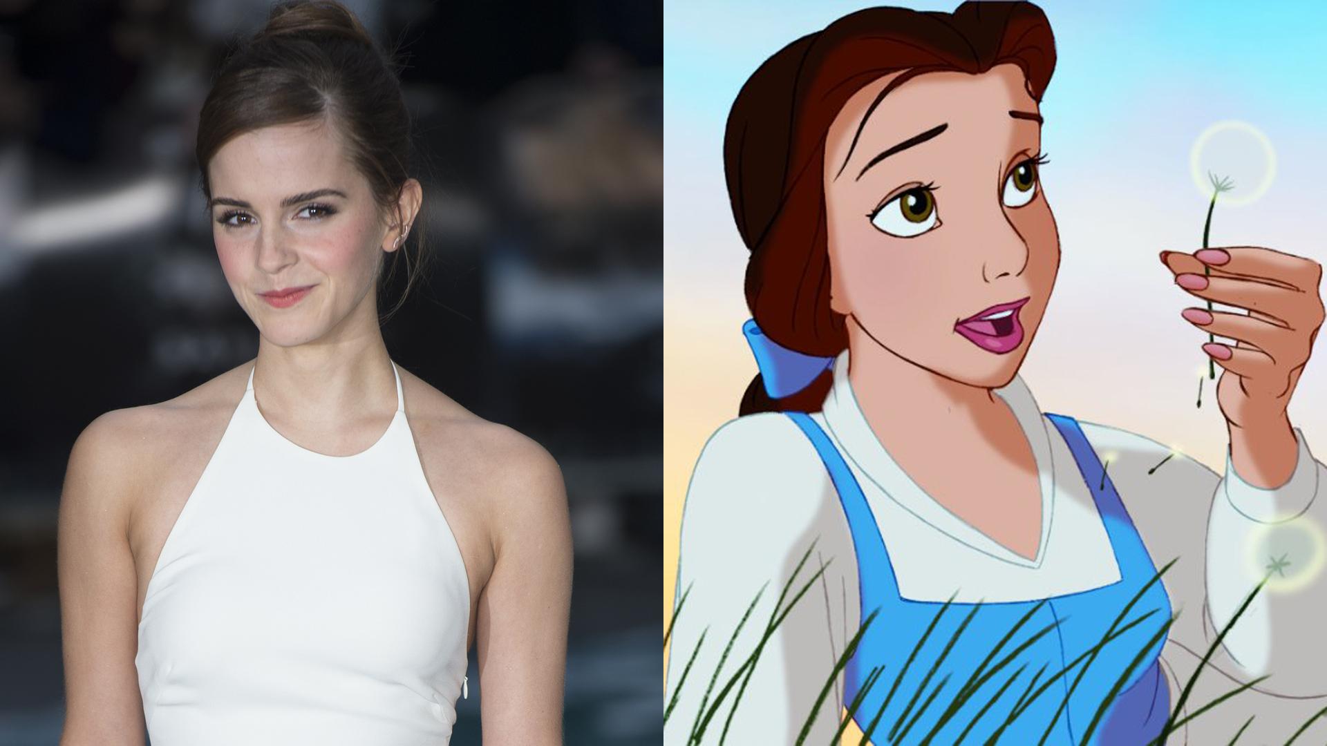 Emma Watson and Belle