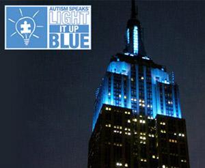 Light It Up Blue - Autism Speaks