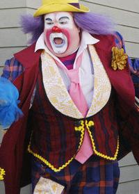 Eric Stonestreet as Fizbo the Clown on Modern Family