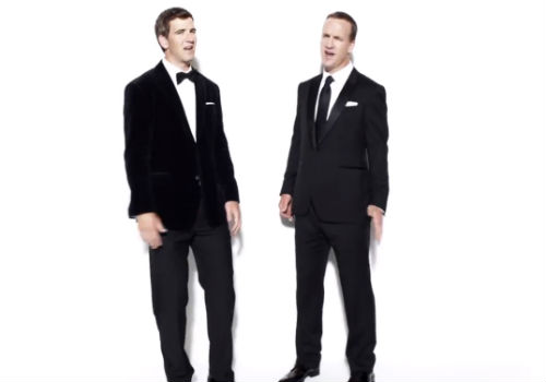 Manning Brothers in Suits Mmmm