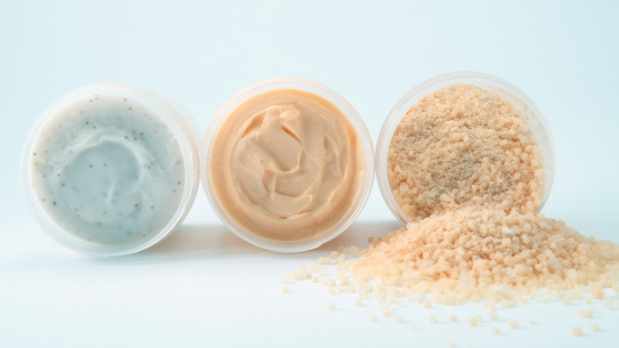 Three Jars of Beauty Care Products