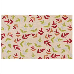 Fall Leaves Outdoor Rug
