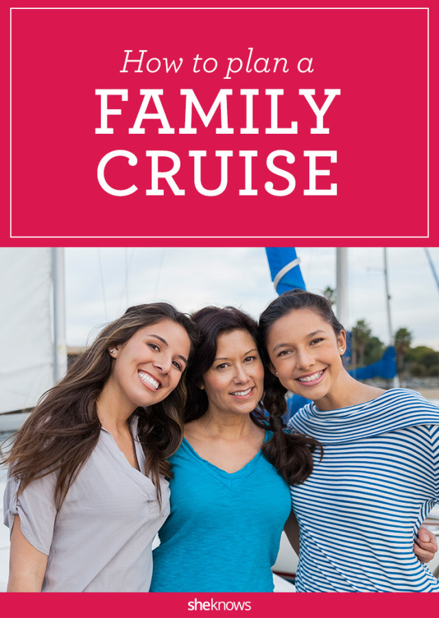 How to plan a family cruise