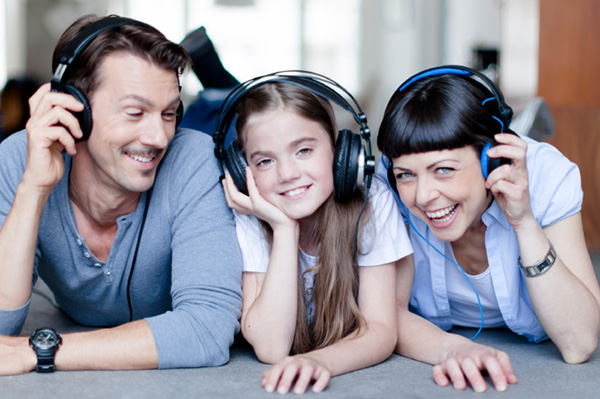SheKnows Parents listing to music with tween daugthter