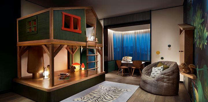 Treehouse suite shangri-la hotel signapore