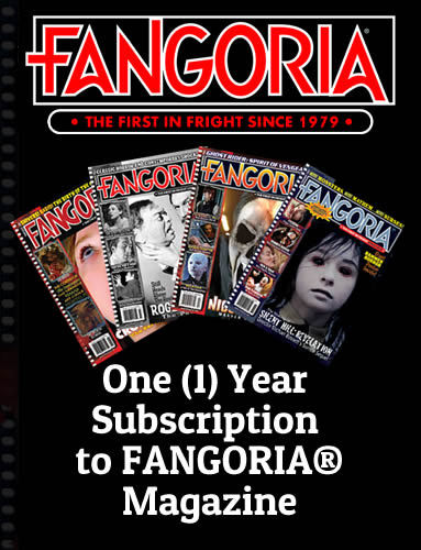 Fangoria One Year Subscription