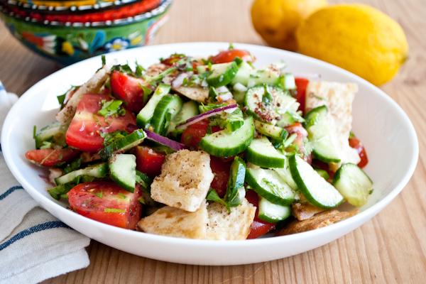 Fattoush Salad and other Creative Salad Ideas