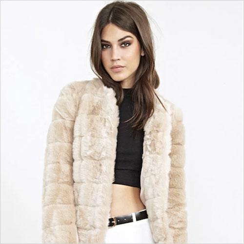 Fur — even fake fur