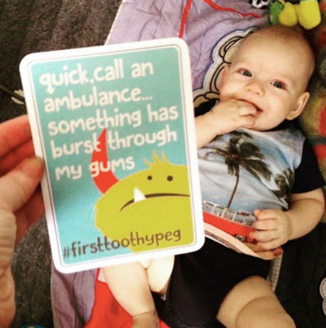 Witty parenting cards