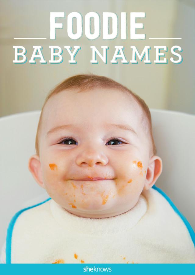 Foodie baby names