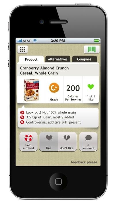 Fooducate™ Mobile App