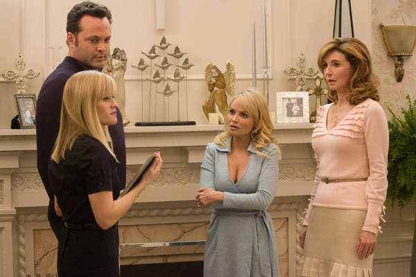 Meeting Reese's family in Four Christmases