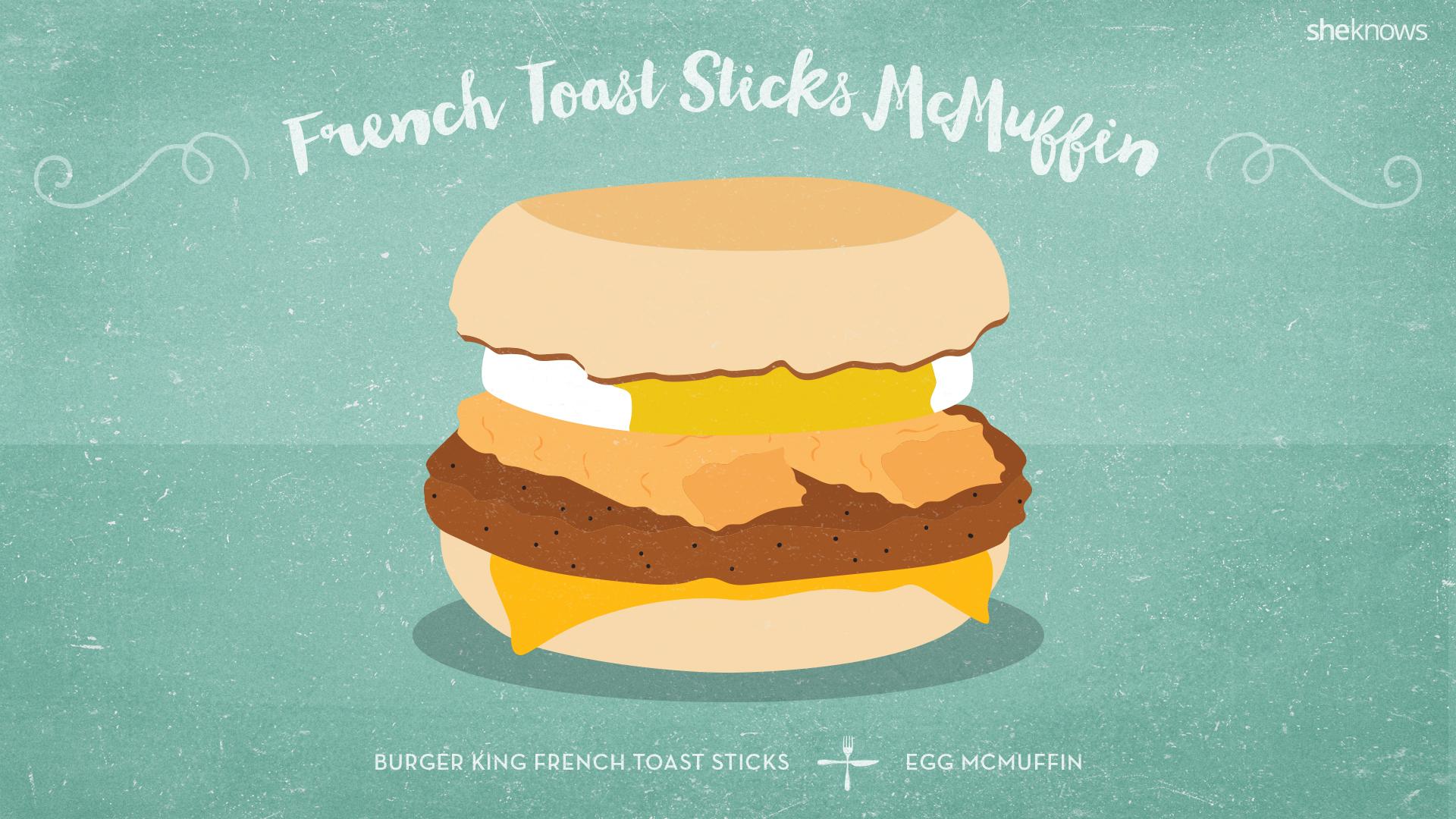 French Toast Sticks McMuffin