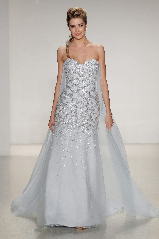 Frozen inspired gown