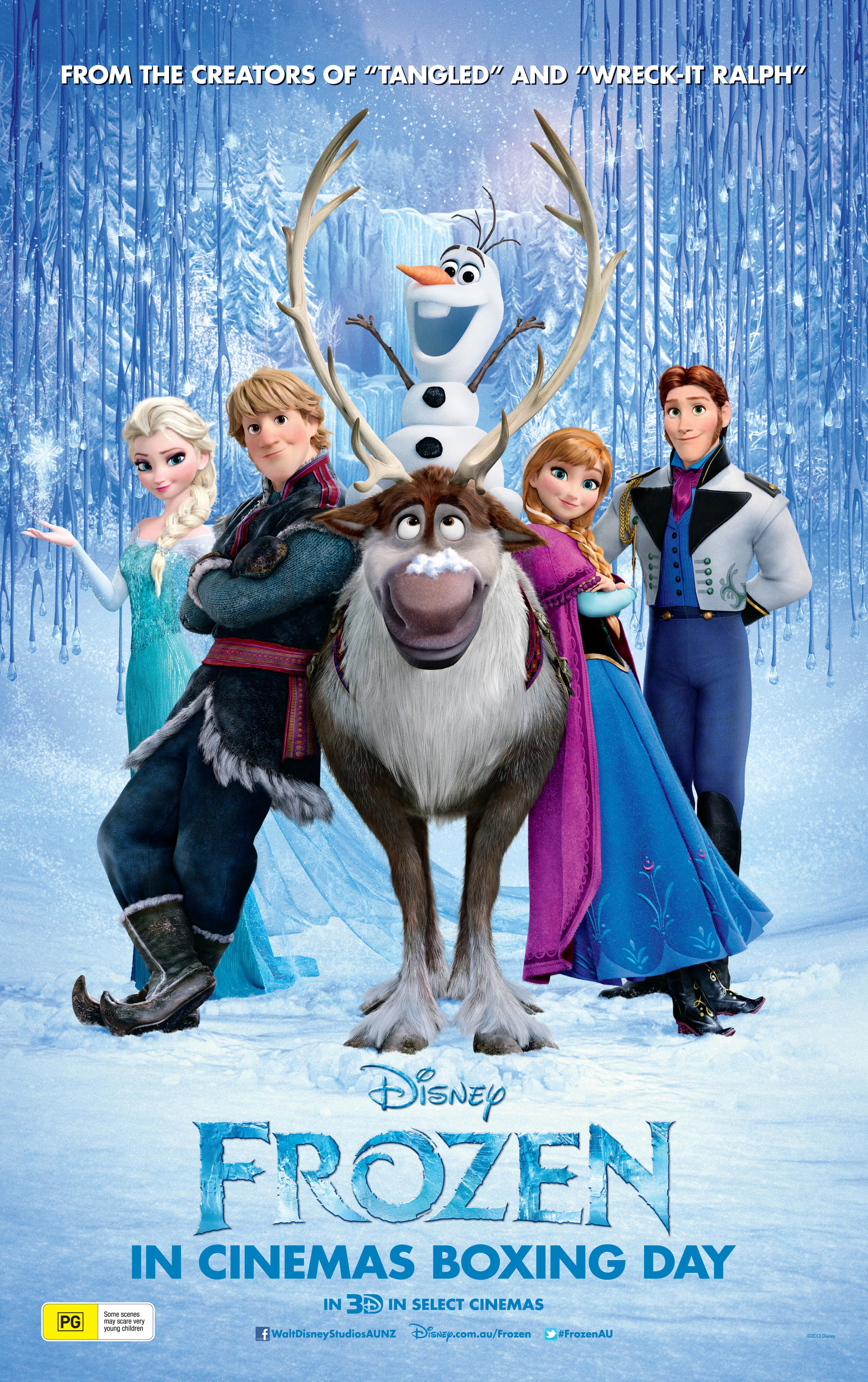 Frozen movie poster | Sheknows.com.au